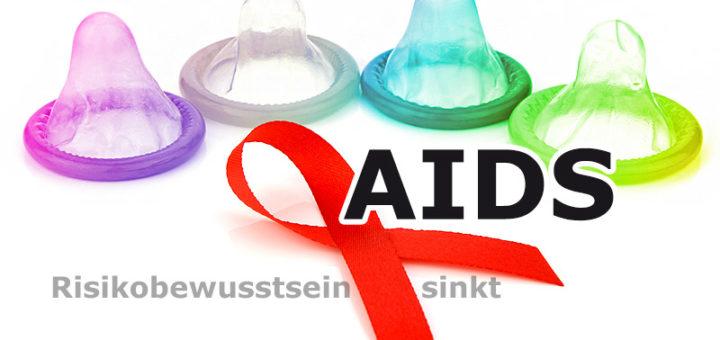 AIDS: Risikobewusstsein sinkt