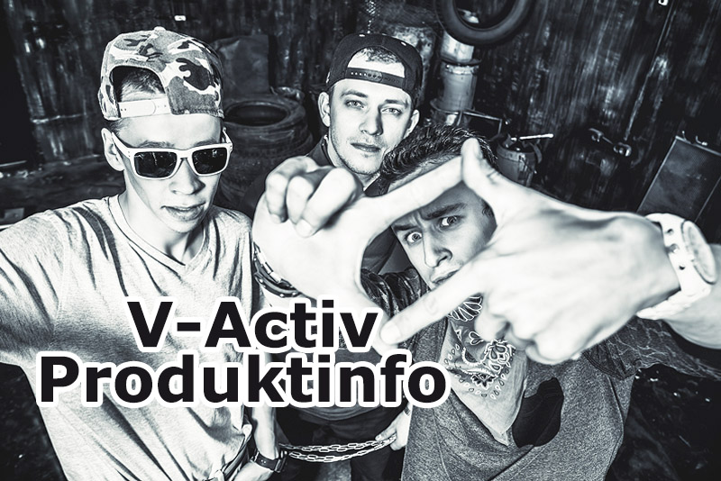 Produktinfo V-Activ (vormals Viagrin's for men)
