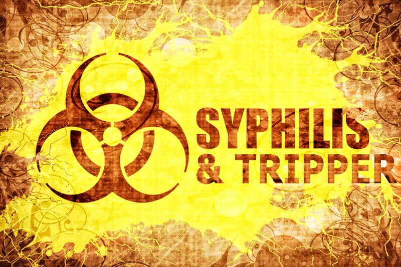 Syphilis und Tripper