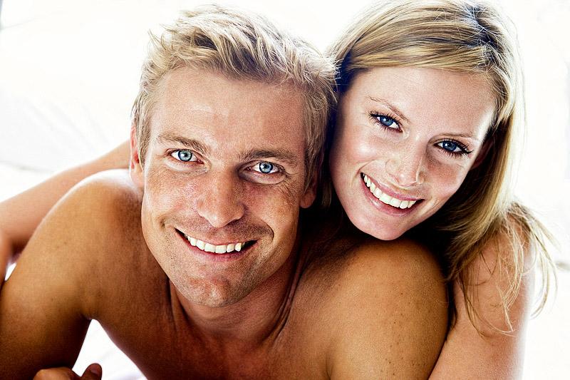 Glückliches Paar - guter Sex fördert nachweislich die Gesundheit