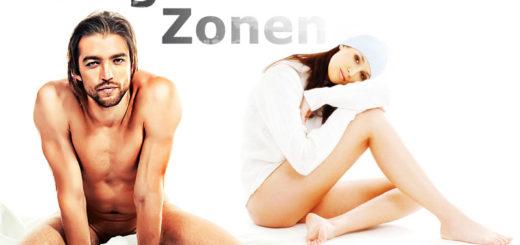 Erogene Zonen bei Frau und Mann