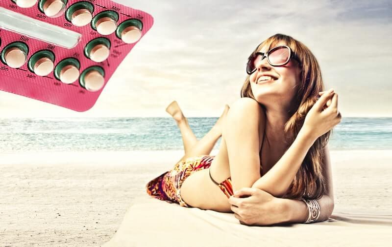 Die Pille im Urlaub
